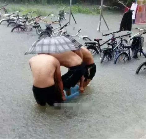 梅雨季节:我是用生命在上班啊!