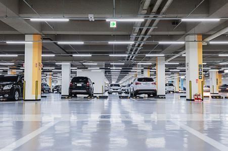 车库和停车场的湿度控制