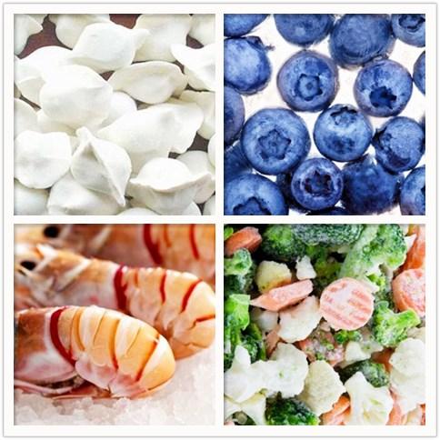 冷冻食品的湿度控制