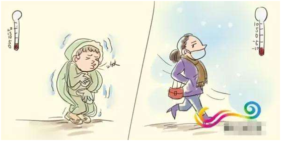 冬季是北方肤冷,南方骨冷