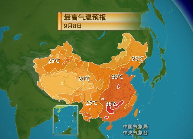 华西秋雨不断升级 江浙沪的连阴雨有望暂停