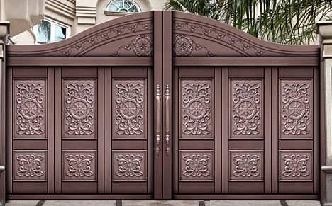 铜门的外观特点 铜门的色彩感