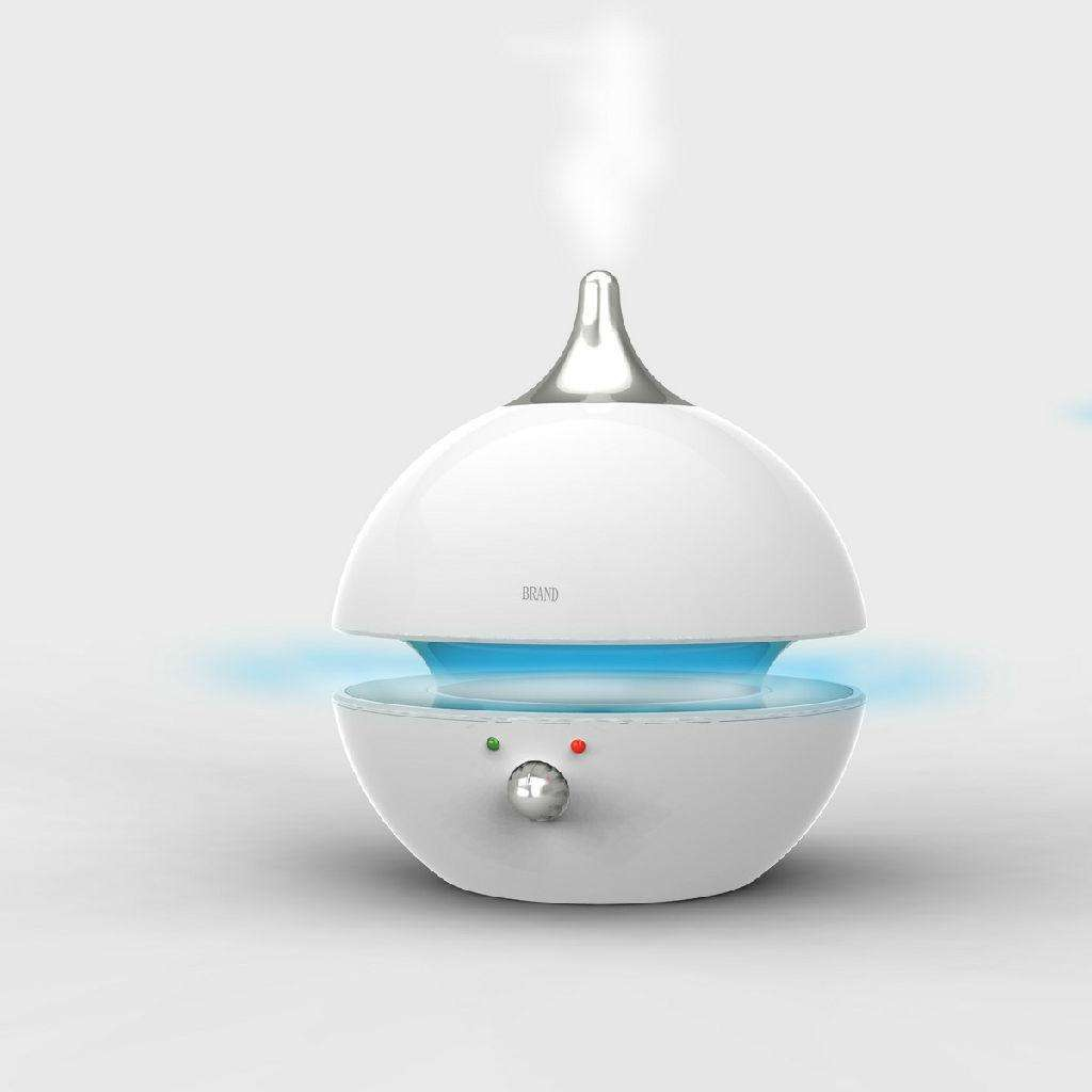 用加湿器不如床边放盆水
