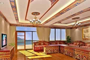藏式家具的特点