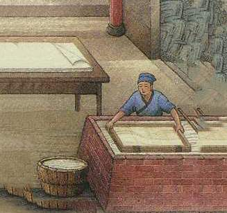 古代造纸的过程