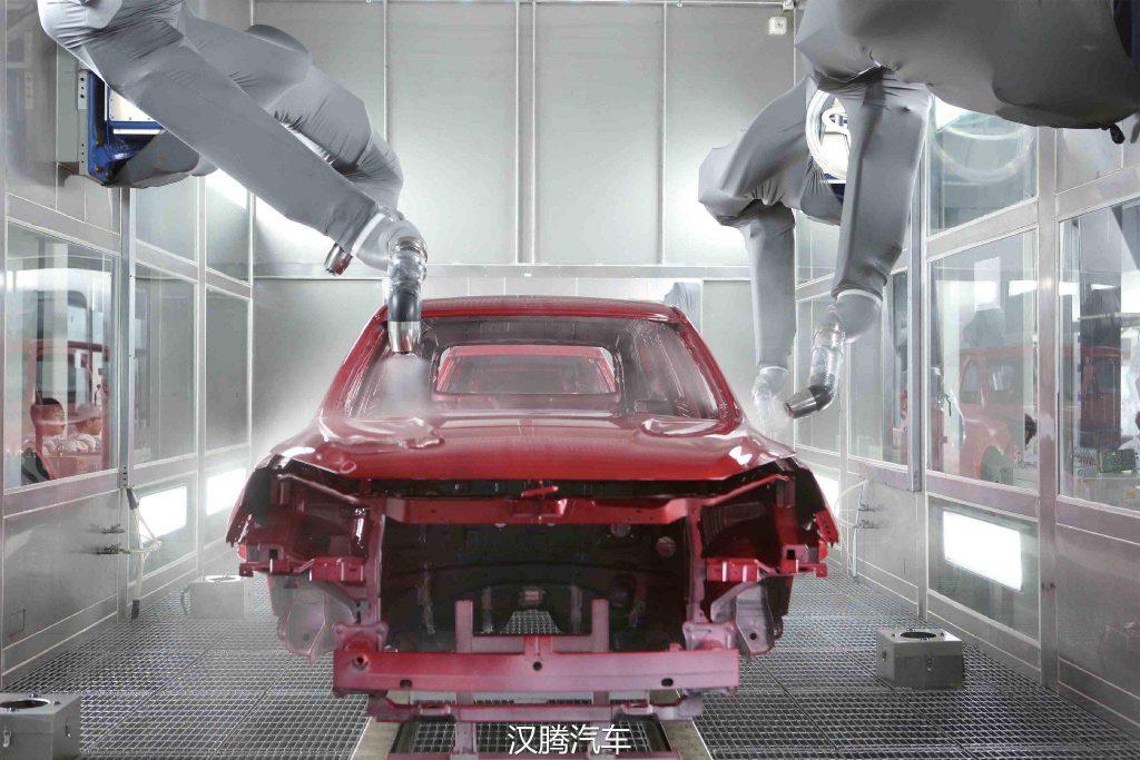 涂装车间温湿度调节