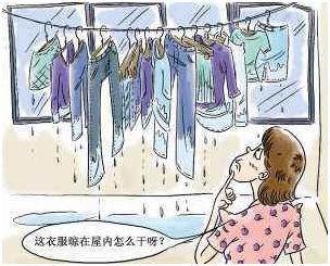 冬季天气湿冷衣物难干怎么办?