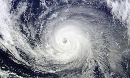 台风暴雨袭来!