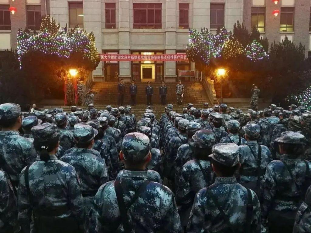 致敬!中国军人!